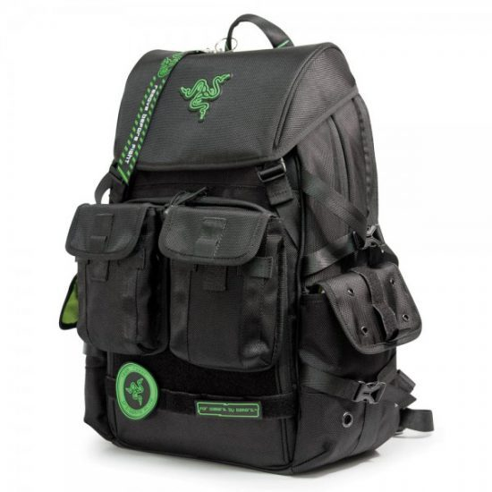 """Razer Tactical Pro Gaming Backpack (17"""")-0"""