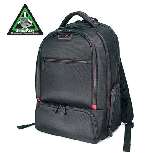 "Professional Backpack - 16"" - Black-0"