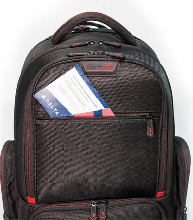 "Professional Backpack - 16"" - Black-18924"