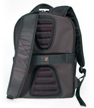 "Professional Backpack - 16"" - Black-18921"
