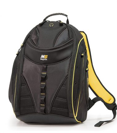Express Laptop Backpack - Black / Yellow