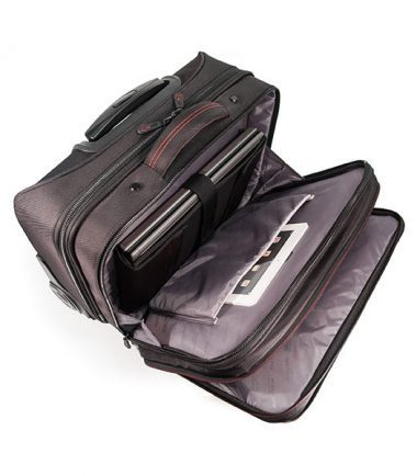 Professional Backpack and Rolling Case Combo -19319