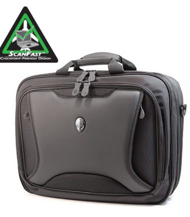 Alienware Orion M17x TSA Approved / Compliant, Checkpoint Friendly Laptop Messenger Bag