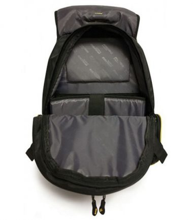 Premium Backpack - Black with Silver Trim - Holds laptops up to 17.3 inch - Plenty of storage space