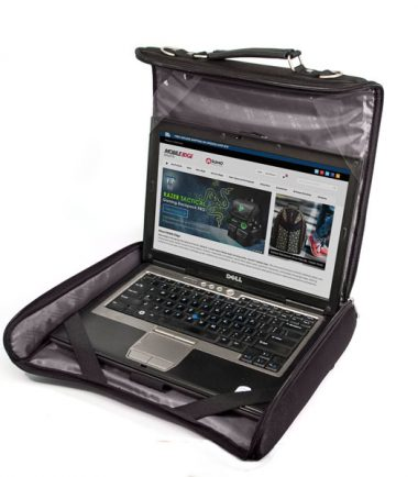Mobile Edge - 2.0 Express Notebook Case 17 inch - Black - Work directly out of the case