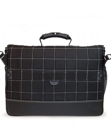 Sumo Laptop Briefcase - Trolley strap for use with rolling luggage