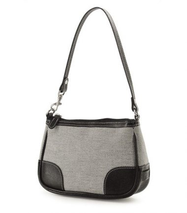 Madison Matching Clutch - Taupe / Black-0