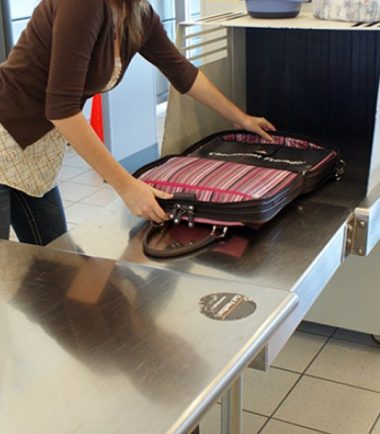 ScanFast Element Checkpoint Friendly Briefcase - Airport