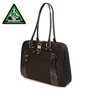 ScanFast Onyx Checkpoint Friendly Briefcase-0