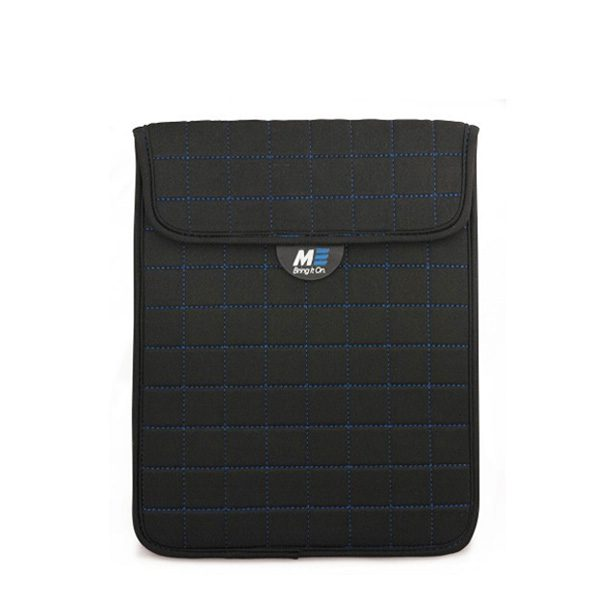 NeoGrid Tablet Sleeve (Black with Blue Stitching)-0