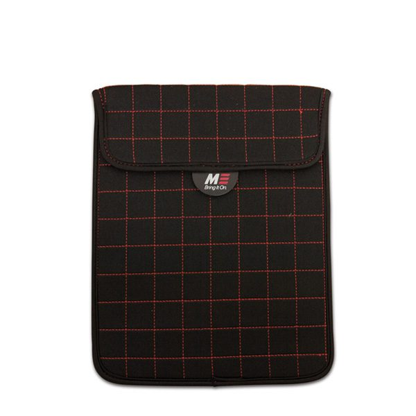 "NeoGrid iPad Mini 7"" Tablet Sleeve (Black with Red Stitching)-0"