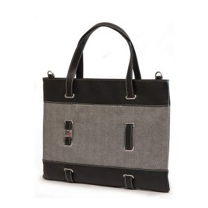 Herringbone Chromebook / Ultrabook Tote-0