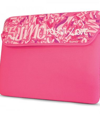 Sumo Graffiti iPad Sleeve (Pink)-20522
