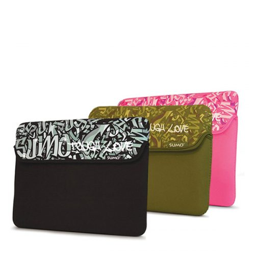 "Sumo Graffiti Sleeve - 10"" Black-0"