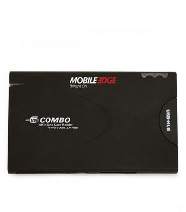 All-In-One USB 2.0 Card Reader and 3-Port Hub