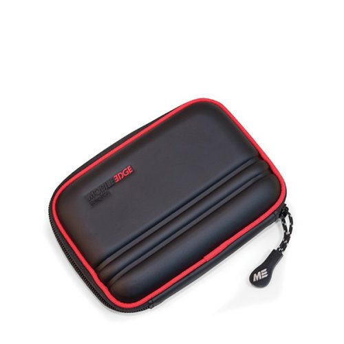 Portable Hard Drive / GPS Carrying Case (Black / Red)-0