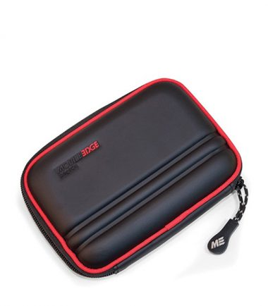Portable Hard Drive Carrying Case (Small, Black / Red)-0