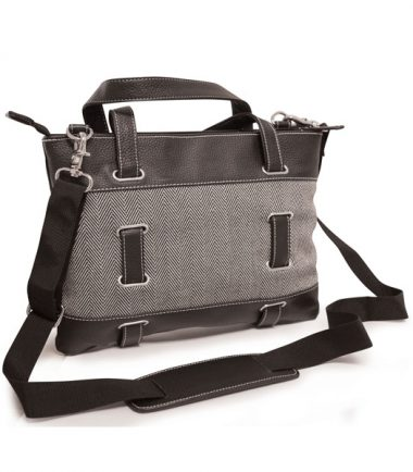 Herringbone Tablet Tote-21956