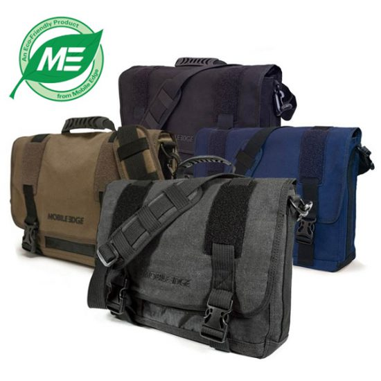 ECO Laptop Messenger (Eco-Friendly) - Fits laptops up to 17.3 inch