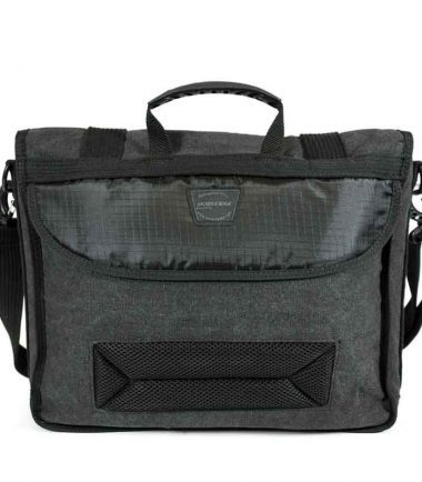 MECME5 - Eco-Friendly Laptop Messenger (Ash) - Padded Back Panel For Carrying Comfort