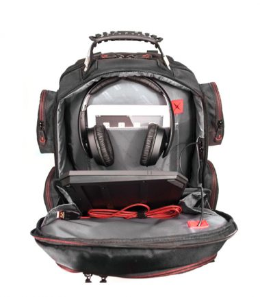 "Core Gaming Backpack w/Molded Panel 17""-22356"