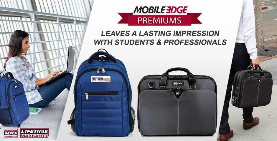 With Mobile Edge Protective Bags and Cases, Professionals & Students Travel in Style