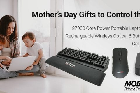 Work-at-Home Moms - Keep All Your Tech Organized & Protected with Mobile Edge
