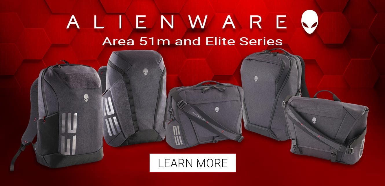 Alienware Area 51m and Elite Series Learn More