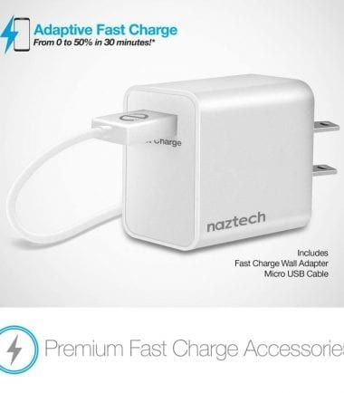 Power Pad Qi Wireless Fast Charger - Premium Fast Charge Accessories White