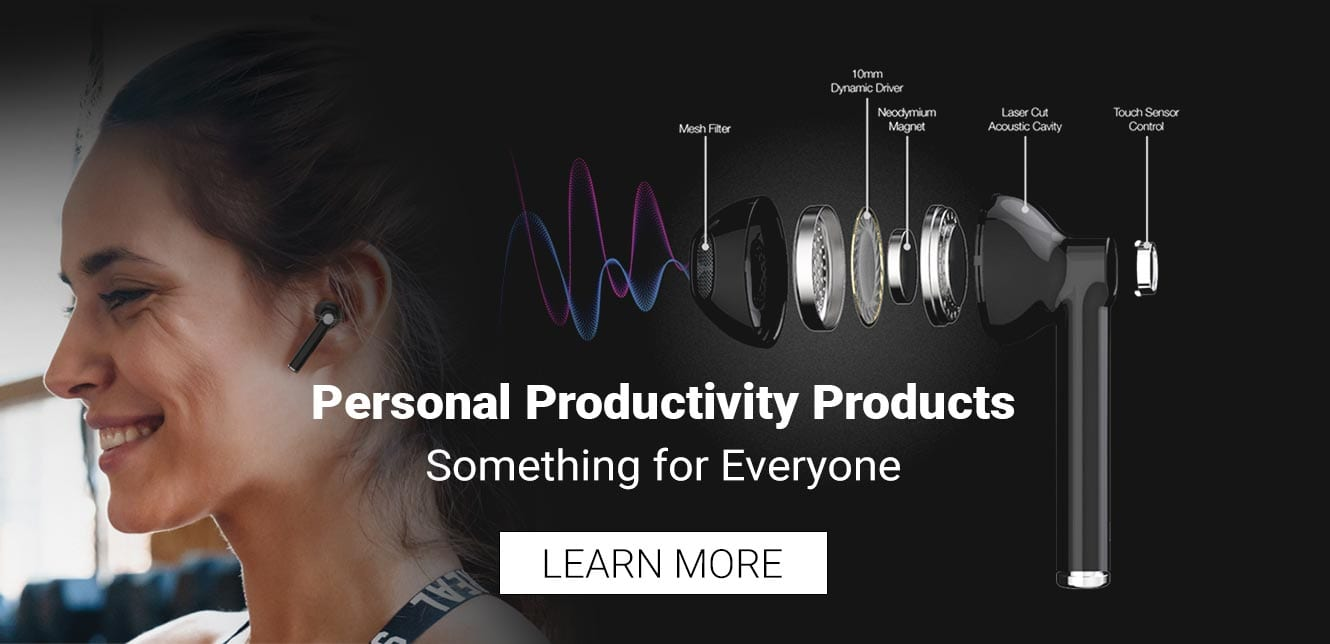 Personal Productivity Products - Learn More -xpods
